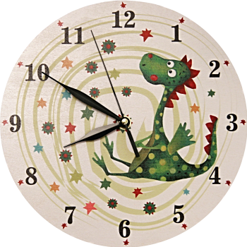 Clock dragon